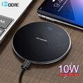 DCAE Qi Беспроводное зарядное устройство 10 Вт для samsung S10 S9 S8 Plus приемник Быстрая зарядка док-станция для iPhone 11 X XS Max XR 8 Airpods Pro