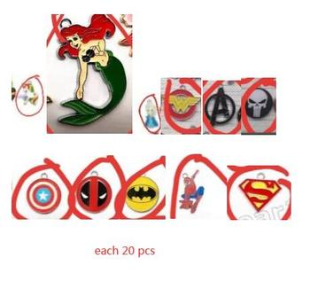 220 pcs  Cartoon  Charm Pendants DIY Jewelry Making Accessories For Best Gift  k-64