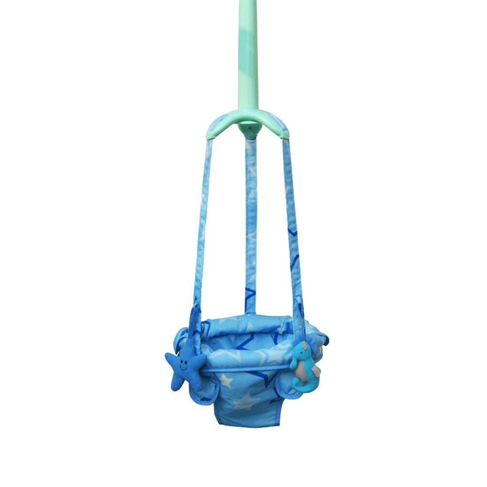 Детский дверной проем Перемычка прыгающая Детская безопасность игрушки для малышей Обучающие регулируемые упражнения качели Висячие сиде