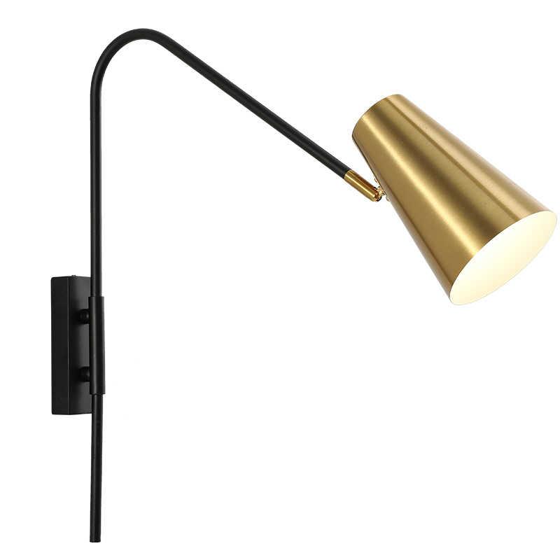 2019 مشاركة جديدة حديثة الروك الجدار مصباح مطعم بار غرفة المعيشة الحمام الدرج جدار ضوء للمنزل wandlamp خمر