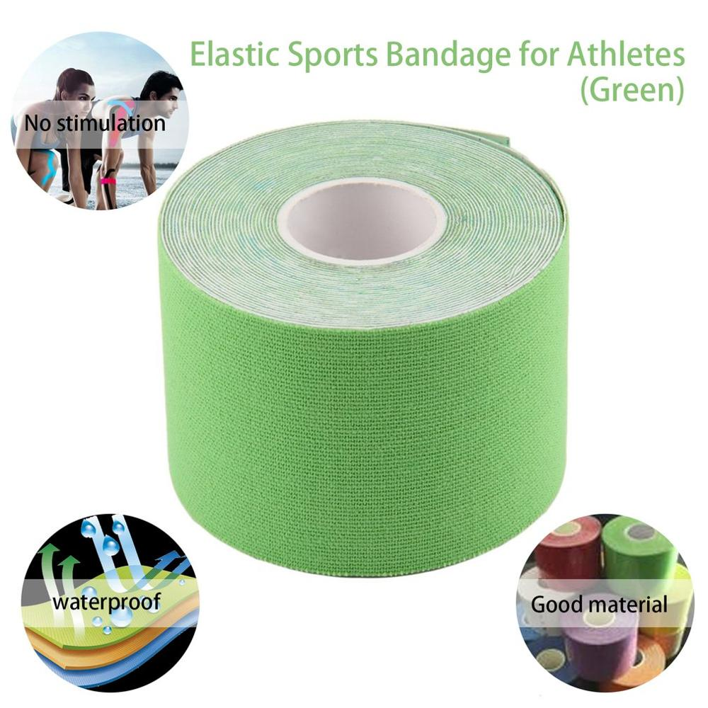 1 Roll 5cmx5m Multipurpose Waterproof  Roll Sports Elastic Tape  Treat Muscle Pain Care  Hypo-allergenic Acrylic Glue