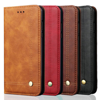 Luxury Leather Card Slot Flip Case for OPPO A72 Case OPPO A 72 2020 Wallet Cover 360 Protective Funda OPPO 72A Phone Shell Funda