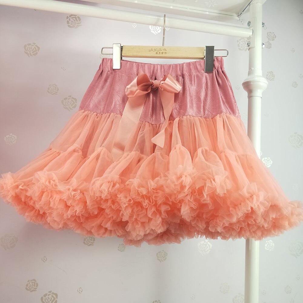 Детская юбка-пачка для девочек; пышная юбка-американка; распродажа - Цвет: Хаки