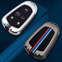 Auto Remote Key Volle Abdeckung Fall Für Cadillac ATS ATS L XLS XTS XT4 XT5 XT6 CT6 CTS CTS V SRX 28T Zubehör Halter Fob
