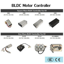 цена на Kelly controller sinusoidal wave vector bldc foc programable dc brushless hub motor speed controllers