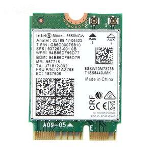 Image 2 - 1730Mbps Cho Intel Kép AC 9560 Máy Tính Để Bàn Bộ Bluetooth 5.0 802.11ac M.2 CNVI 9560NGW Wifi Thẻ ăng Ten