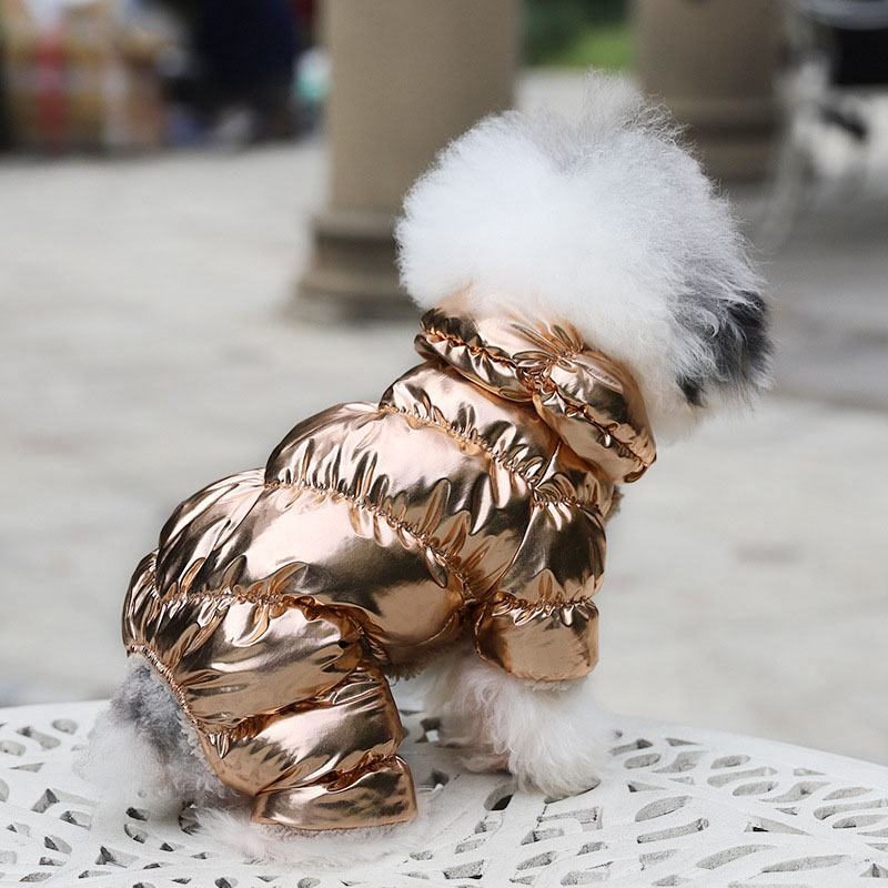 Dog Cat Clothes Warm Coat Jacket Pants Overall Jumpsuit FBI For SMALL Pet XS XL