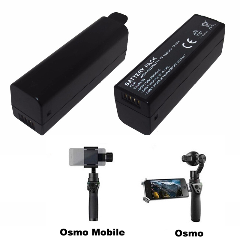 lowest price Replacement HB01 Battery for DJI OSMO Mobile DJI OSMO Handheld Gimbal 4K Camera HB01-522365 HB02-542465 Fast Dual Charger