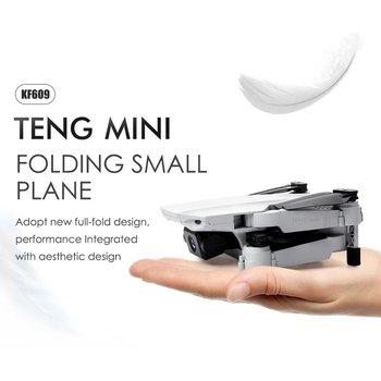 цена KF609 4K HD Camera RC Mini Foldable Drone with WIFI FPV Selfie Optical Flow Stable Height Fly Quadcopter RC Helicopter Toy онлайн в 2017 году