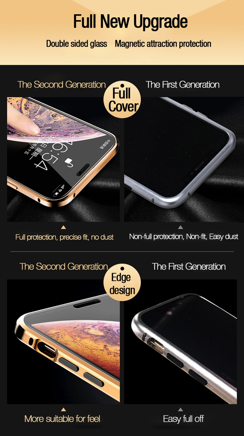 H39d9f65246e8474ab6601822a0cbe7ddA Tongdaytech Privacy Magnetic Case For Iphone XS XR X 6s 6 7 8 Plus 11 Pro MAX Magnet Metal Tempered Glass Cover 360 Funda Cases
