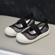 Loafer Summer Children's Flats Canvas-Shoes Casual-Net Toddler Soft Baby Kids Girls Fashion