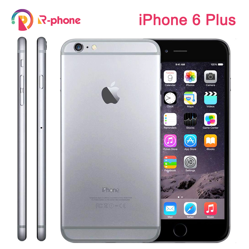 Apple iPhone 6 Plus Dual-Core 16gb Nfc Fingerprint Recognition 8MP Used WCDMA IOS 3G title=