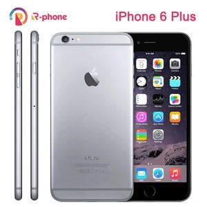 "Unlocked Original Apple iPhone 6 Plus Dual Core 5.5"" IOS 16/64/128GB ROM 8MP Camera 3G WCDMA 4G LTE Used Phone Cellphones     -"