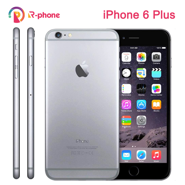 Unlocked Original Apple iPhone 6 Plus Dual Core 5.5″ IOS 16/64/128GB ROM 8MP Camera 3G WCDMA 4G LTE Used Phone