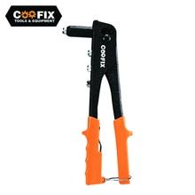 COOFIX Hand Riveter Manual Light-weight Rivet Gun Stainless Steel Double Handle Rivet Gun Household Repair Tools