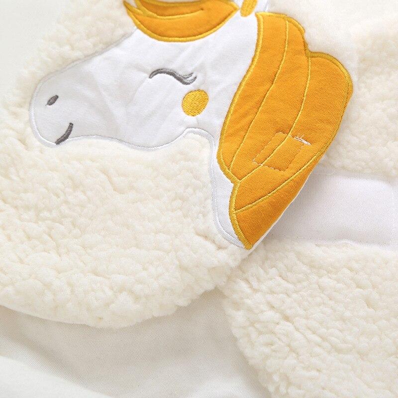 uma peça quente receber cobertor para recém-nascido infantil sleepwear
