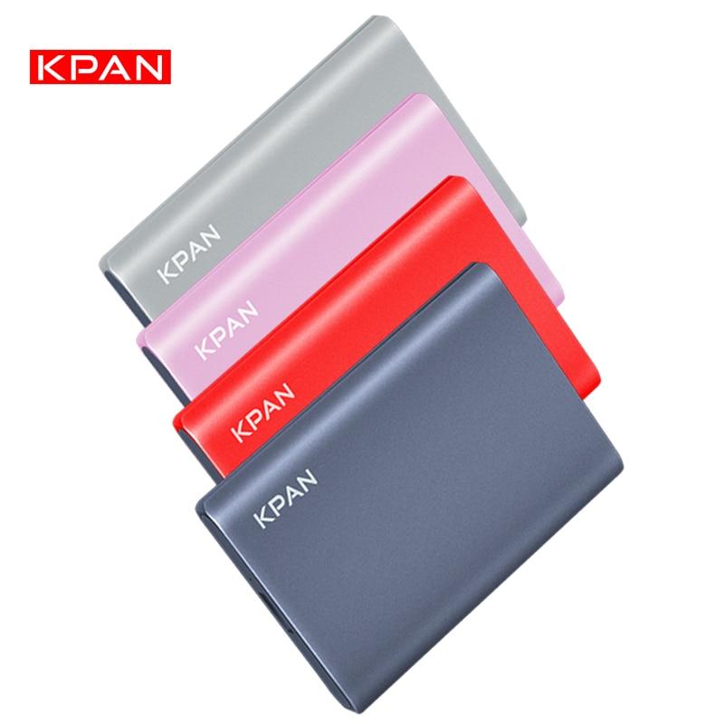 New Style KPAN Metal Thin External Portable Hard Drive  Storage Capacity Disco Duro Portátil Externo For PC/Mac,TV,xbox,PS4