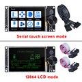 Сенсорный экран BIGTREETECH TFT35 V3, 32-битный, 3,5 дюйма, с поддержкой Wi-Fi, 12864LCD дисплей для SKR V1.4 Turbo SKR V1.3 CR10 Ender 3