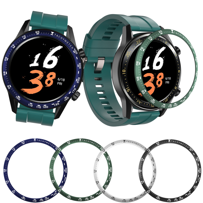 Metal Outer Edge Cover For Xiaomi Amazfit GTR 47MM Bezel Ring Dial Scale Speed Protective Case For Amazfit GTR 47 Tachymeter