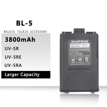 BL 5 Bộ Đàm Baofeng UV 5R Pin 1800MAh 3800MAh Pin Cáp USB Cho Máy Bộ Đàm BF F8 UV5R UV 5RE UV 5RA 5RB 5RL F8 + F8HP