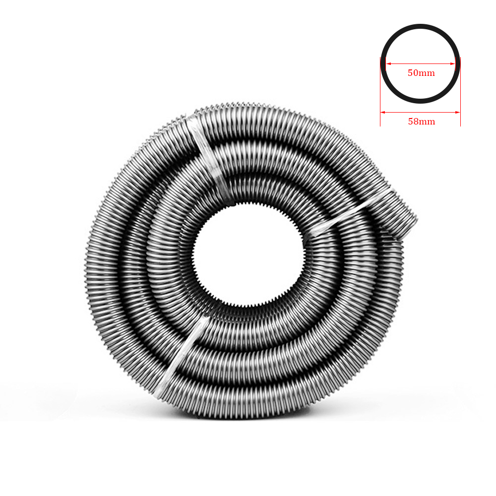Vacuum Cleaner Thread Hose Inner 50mm Outer 58mm Bellows Straws Soft Pipe Factory Replacement Vacuum Tube Part Accessories