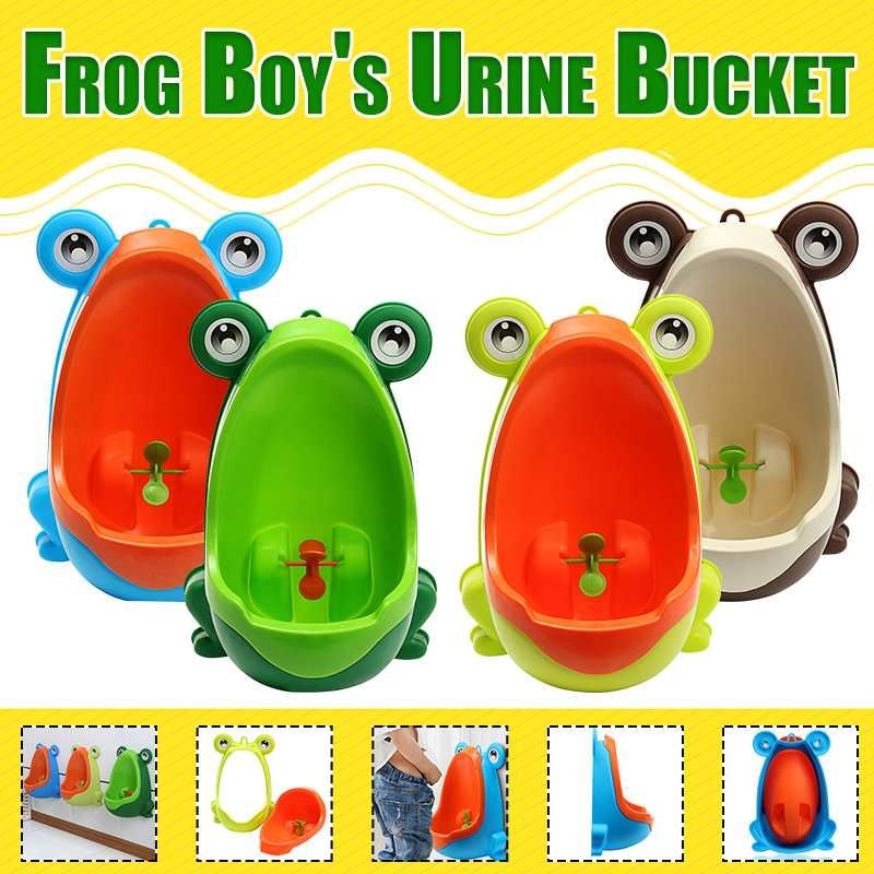 Kids Urinal Boys Stand Pee Trainer Bathroom Baby Toddler Stylish Wall Hanging Toilet Training Cartoon Children Potty Toilet