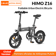 Lcd-Display Electric-Bicycle E-Bike Folding Himo Z16 250W 80km Outdoor 10ah Shock-Absorber