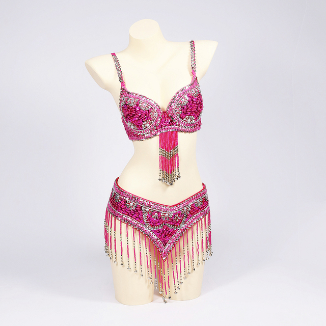 Special Customizable Oriental Belly Dance Costumes XL Size 20-30 days 2