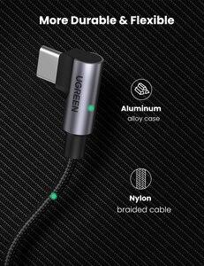 Image 5 - Ugreen USB Type C к USB C кабель для Samsung Galaxy S9 PD 100 Вт быстрое зарядное устройство кабель для Macbook поддержка быстрой зарядки 4,0 USB шнур