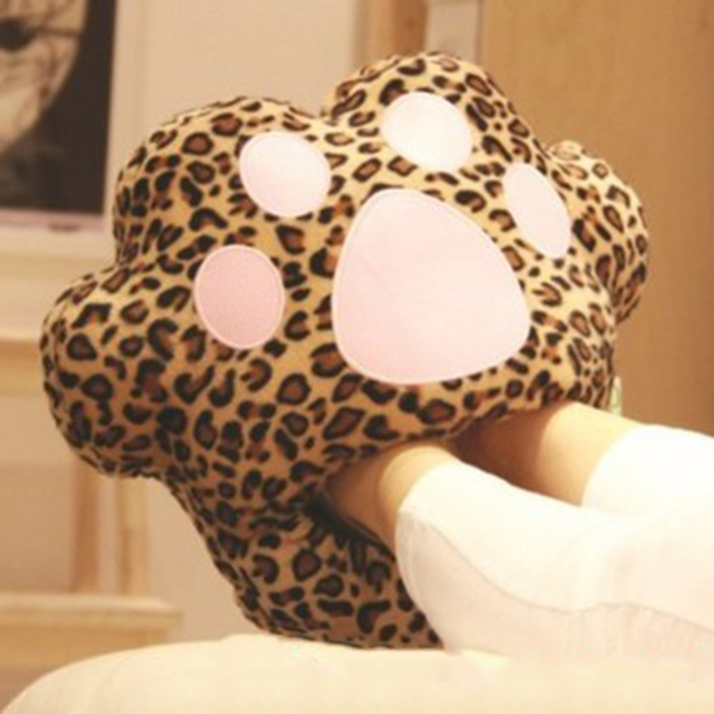 1pc/lot Big Feet Warm Slippers Cartoon USB Foot Warmer Shoes Computer PC Electric Heat Slipper  Popular NewBrand New