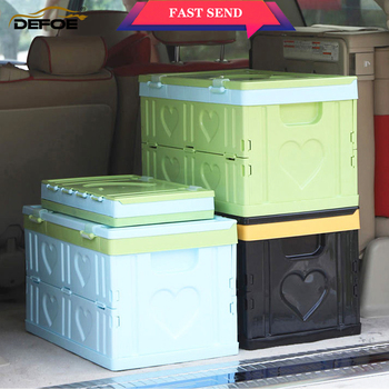 auto car box storage Trunk organizer back seat bag Car trunk travel home