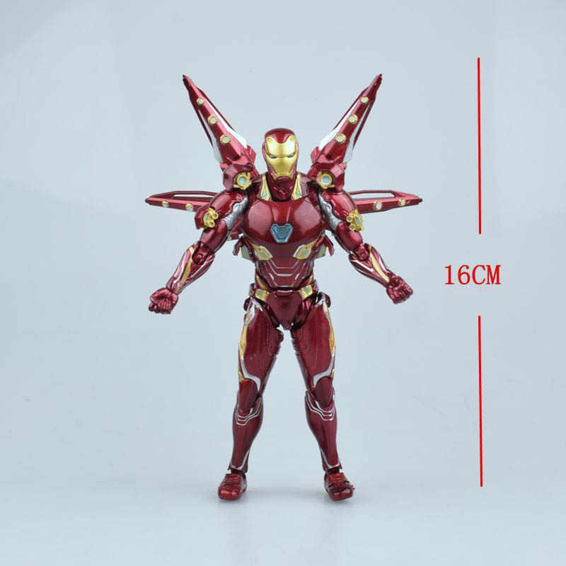القادمون الجدد الفيلم الأعاجيب المنتقمون 4 Endgame SHF الحديد رجل MK50 نانو سلاح مجموعة 2 ألعاب شخصيات الحركة دمى لعيد الميلاد هدايا