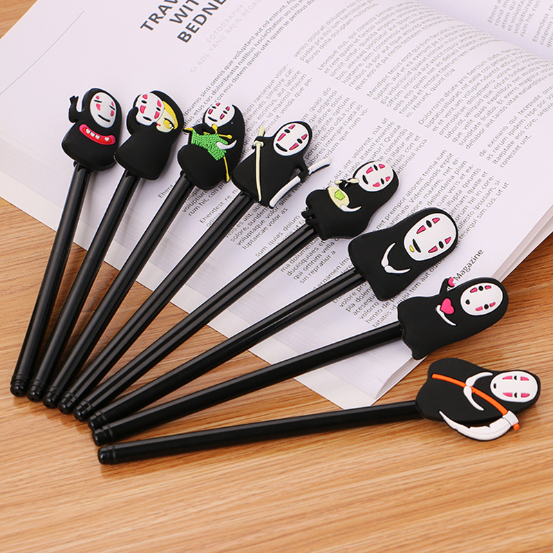 8PCS Halloween Gel Pen All Hallows' Day Pen Ghost gift Pen Novelty Festival Hallowmas Office and School Supplies Stationery