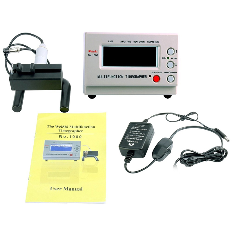Mechanical Watch Tester Timing Timegrapher For Repairers And Hobbyists,No.1000,Eu Plug