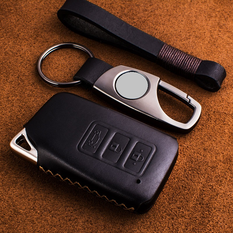 Genuine Leather Key Case Key Cover Protect Bag for <font><b>Lexus</b></font> <font><b>NX200</b></font> ES200 250 RX200t case Key shell ES RS GS IS LX NX Series image