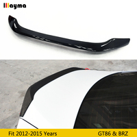 For toyota 86 rear trunk spoiler carbon fiber for Subaru BRZ AD style rear spoiler wing For Scion GT86 2012 2015