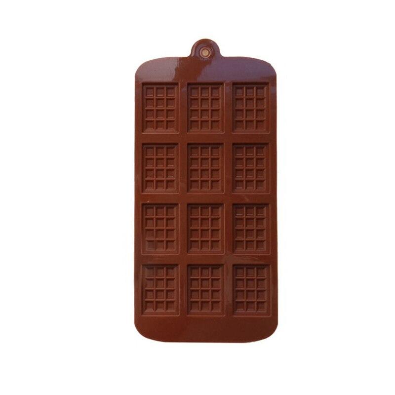 12 حتى لتقوم بها بنفسك الشوكولاته بودنغ الهراء الخبز قالب علبة ثلج كعكة ديكور المنزل المطبخ الخبز أداة سهلة