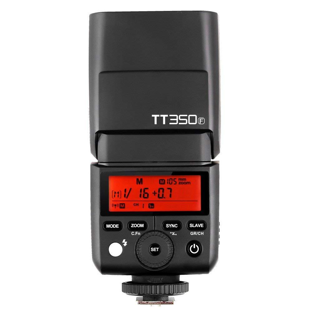 Godox TT350 GN36 2.4G TTL HSS Mini Flash Speedlite + XPro + X1T pour Canon Nikon Sony Fuji Olympus appareil photo
