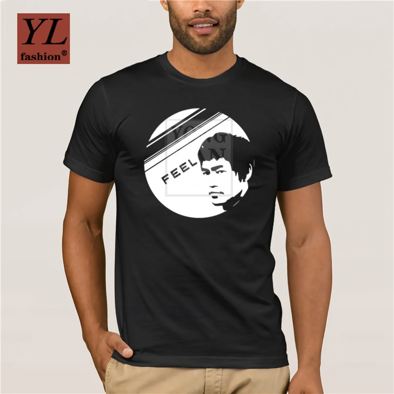 Bruce Lee T-shirt Long Sleeve Graphic Tee Decal Gifts for Men