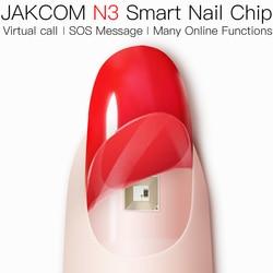 Jakcom N3 スマート爪柔軟なチップ内蔵肌にやさしい素材サポート仮想コール SOS メッセージアンドロイド IOS 利用可能