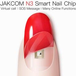 Jakcom N3 Smart Nail Fleksibel Chip Dibangun Di Bahan Ramah Kulit Mendukung Virtual Call Pesan SOS Android IOS Tersedia