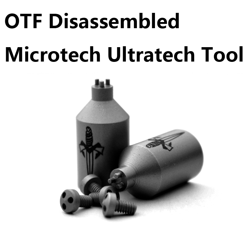 OTF Disassembled Microtech Ultratech Disassembled Tool Knife Screw Removal Tools For Ultratech Scarab Knife 3 Hole Model Design