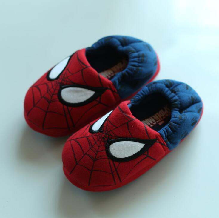 Spring Autumn High-quality Warm Soft Indoor Brand Floor Slippers For Boy Girls Kids Cartoon Shoes Children Christmas Gifts Shoes