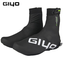 GIYO مقاوم للماء الدراجات أغطية الحذاء النساء الرجال غطاء أحذية الجبلية الطريق دراجة سباق الجرموق أغطية الحذاء مقاوم للماء قفل حامي