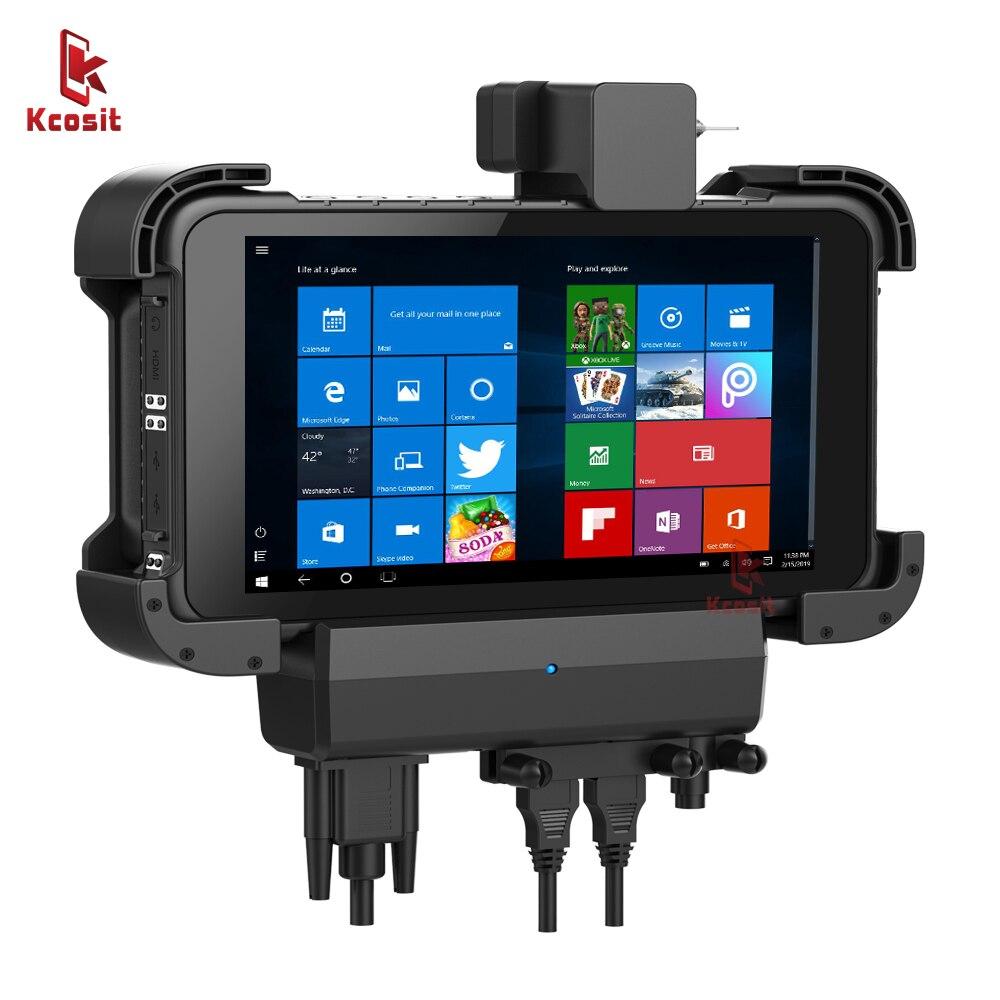 Original K86 Windows Tablet Computer Car Holder Bracket RS232 USB IP67 Robust Shockproof 1280x800 HDMI USB Gps truck navigator