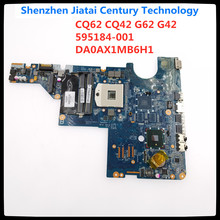 Voor CQ62 CQ42 G62 G42 G72 Laptop Moederbord 595184-001 DA0AX1MB6H1 DA0AX1MB6F1 HM55 Fit Getest Originele