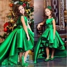 Flower Girl Dresses Long Sleeves Pageant Dress Girl