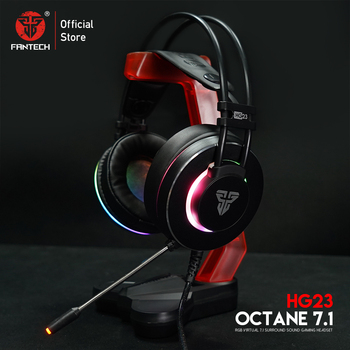 FANTECH Headphones HG23 Headphone With Mic USB Plug Gaming headset And Ac3001 Earphone rack For TOP Game Player PUBG LOL FPS 1