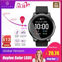 YouPin Haylou inteligentny zegarek słoneczny IP68 wodoodporny Sport Fitness Monitor tętna podczas snu Bluetooth LS05 SmartWatch dla iOS Android tanie tanio 小米有品 CN (pochodzenie) Android OS Na nadgarstku Wszystko kompatybilny 128 MB Passometer Fitness tracker Uśpienia tracker