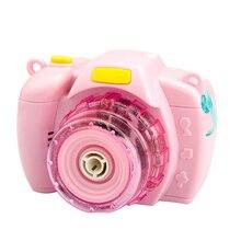 Забавный светильник на батарейках для детей, съемный музыкальный дующий пузыри, Детская динамическая прочная игрушка, камера, Электрический ABS подарок